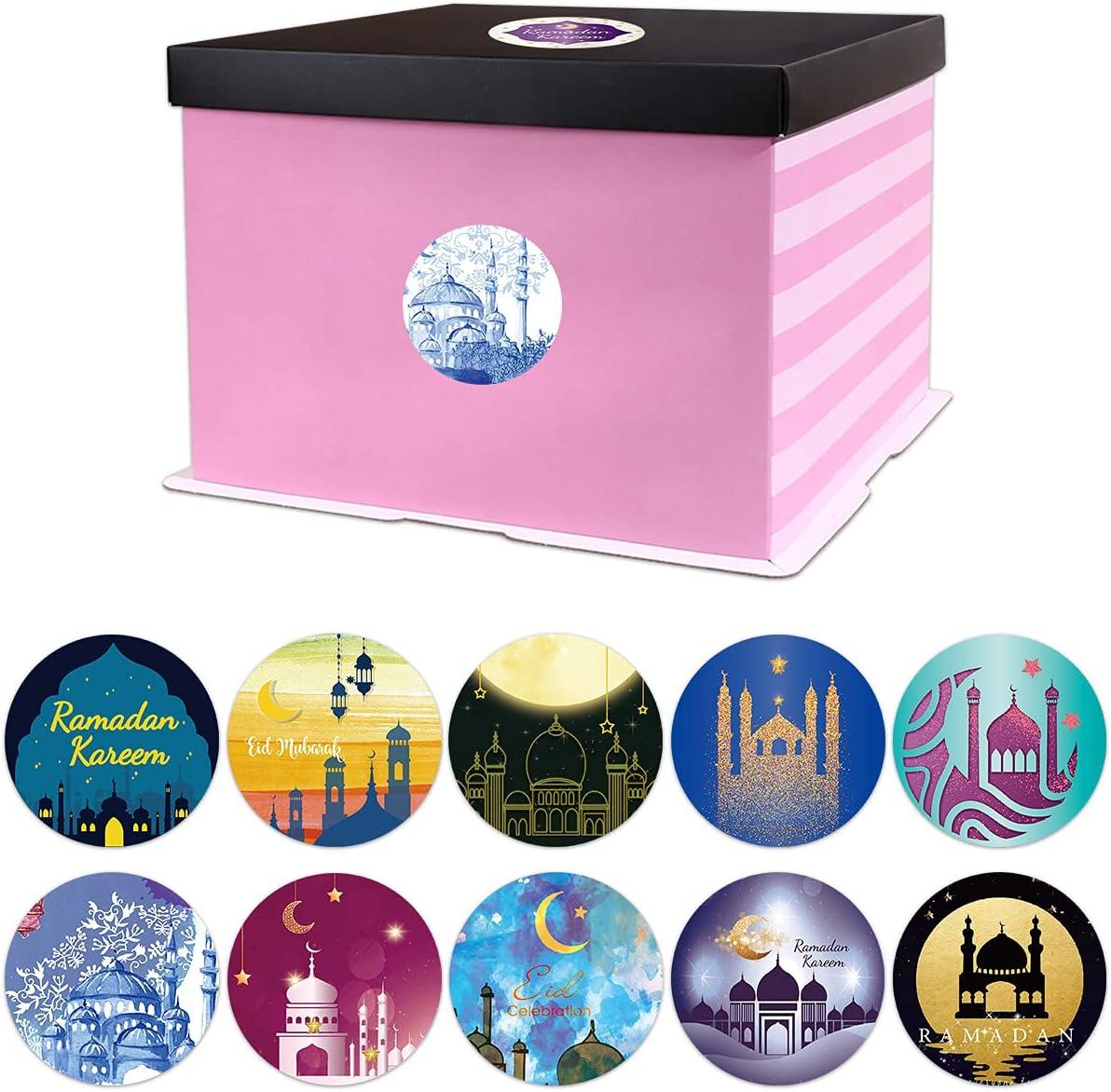 Ramadan Stickers Ramadan Kareem and Eid Mubarak Stickers Sheets Gift Tag Sticker for Kids