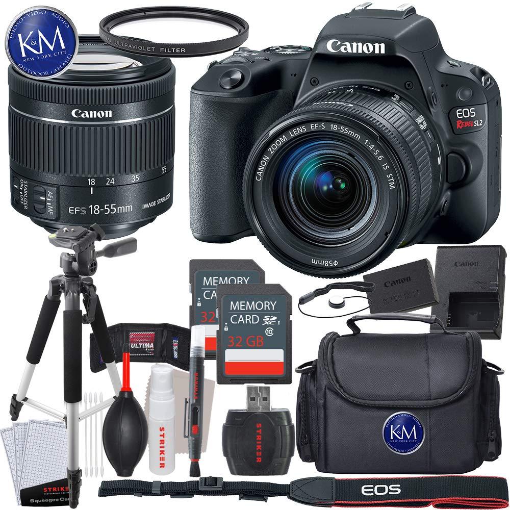 Amazon.com: Canon EOS Rebel SL2 Cámara réflex digital w/18 ...
