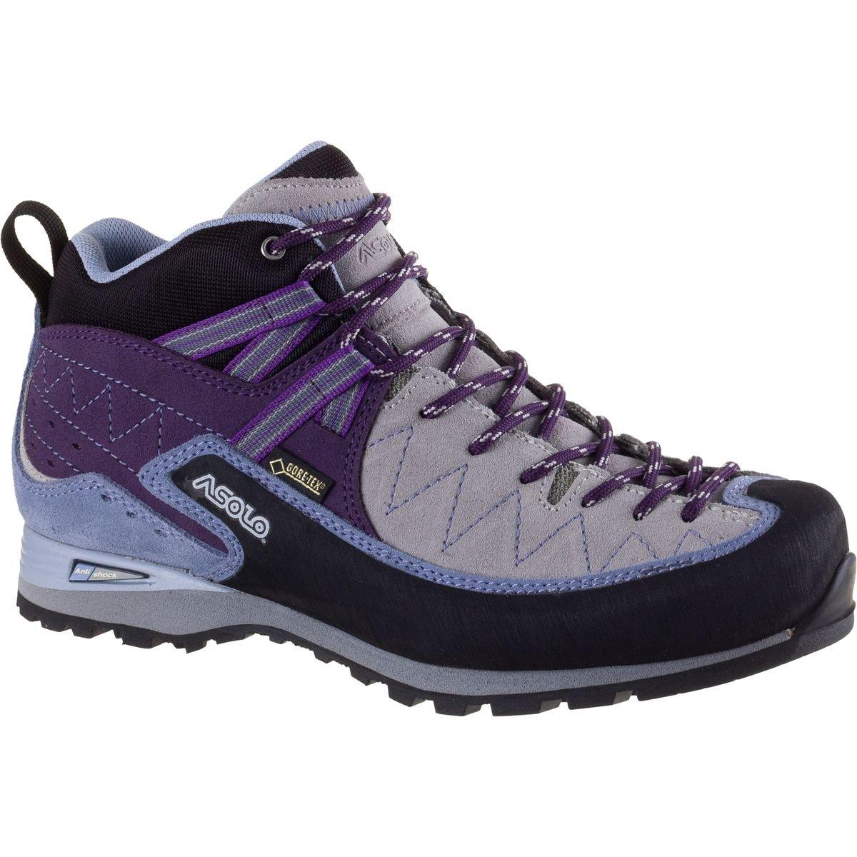 Asolo Jumla GV Approach Shoe - Women's B01DYGFVC8 9.5 B(M) US|Silver/Lilac