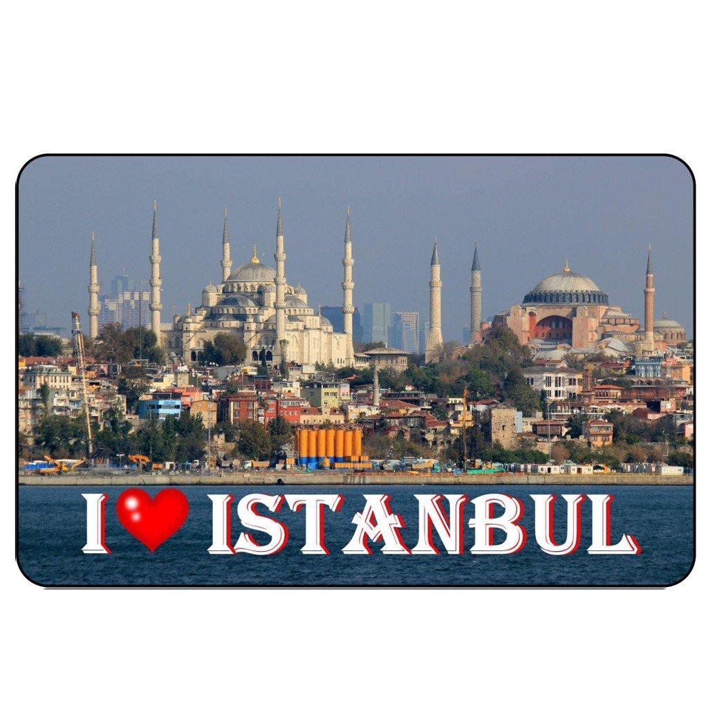 cadora r/ótulo magn/ético Frigor/ífico magn/ético I Love Estambul