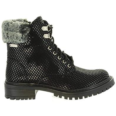 Pls50337 Black Pepe 999 Collie Pour Femme Jeans Bottines xRn4qI0
