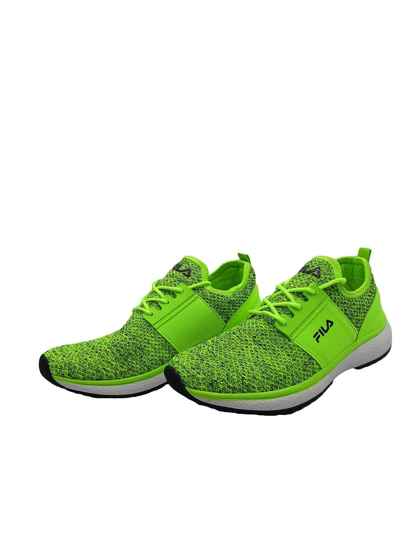 dea4220aa9 Fila Scarpe Uomo Sneakers in Tela Gialla 1010278-19H: Amazon.co.uk ...
