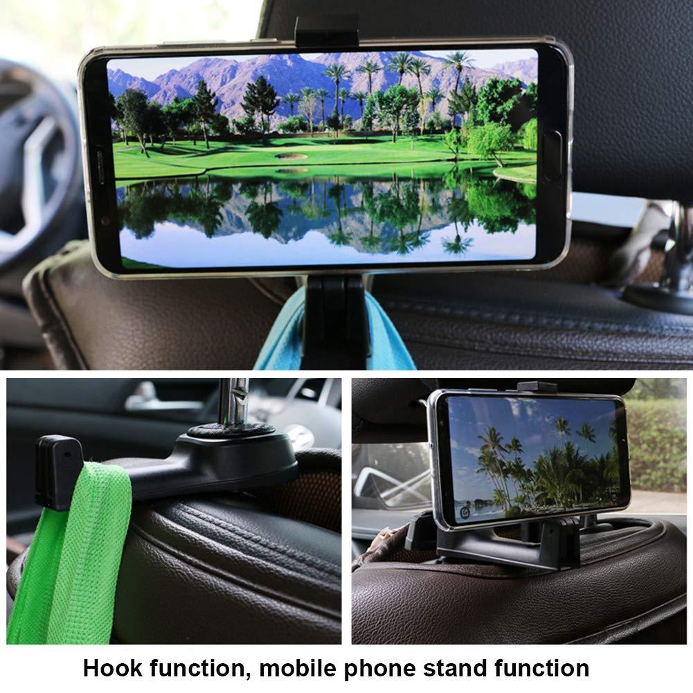 CAheadY Universal Auto Fahrzeug R/ücklehne Kopfst/ütze Halterung Handyhalter Lagerung Haken Durable Aufh/änger