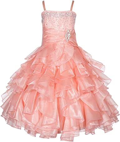 New Fuchsia Flower Girl Pageant Easter Wedding Dress Sz 2 4 6 8 10 12 14 16 $128