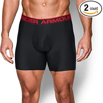 Latest Under Armour O Series 6 Boxerjock 2 Pack Black For Men Sale