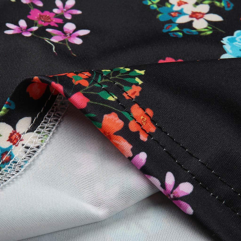 LISTHA Summer Floral Shorts Women Printed Pockets Loose Hot Pants Beach Shorts