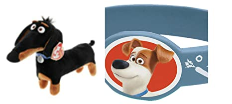 f68c9d02413 Image Unavailable. Image not available for. Color  Ty Beanie Babies Secret  Life of Pets Buddy The Dachshund S S TOYS ...