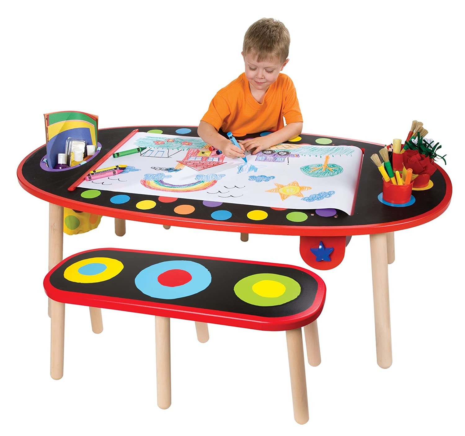 Superior Amazon.com: ALEX Toys Artist Studio Super Art Table With Paper Roll: Toys U0026  Games