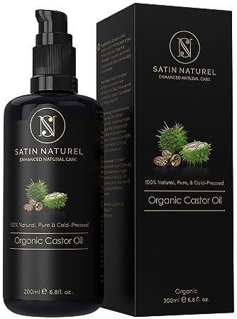 Satinnaturel Bio Rizinusöl Vegan Für Haut Haar 200ml Der Sieger 0319 Rein Natürlich In Lichtschutz Glasflasche 100 Kaltgepresst