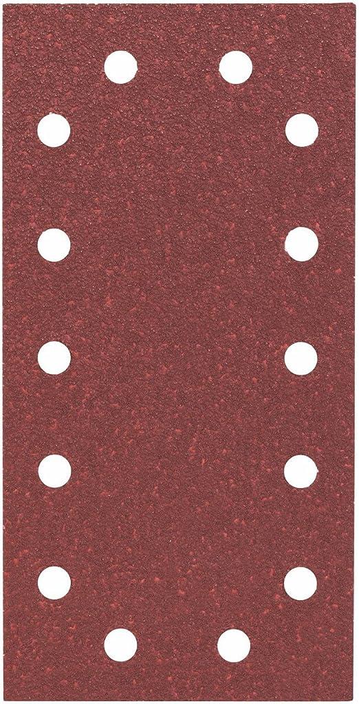 Bosch 2608605266 Feuille abrasive 10 pi/èces 115 x 230 mm Grain 60