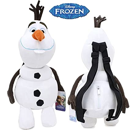 217abd9a79c Amazon.com  Disney Frozen Olaf Plush Backpack for Kids  Toys   Games