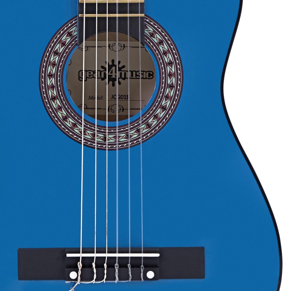 Funda de Guitarra Espa/ñola de 1//2 de Gear4music