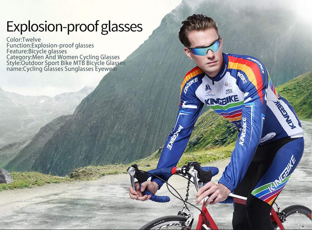e5cc293a48c Amazon.com   Runspeed Sports Sunglasses Cycling Glasses Outdoor Athlete s  UV Protection Night Vision Goggles for Men Women Hiking Running Biking  Fishing ...