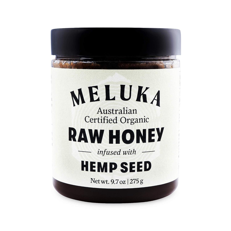 Meluka 100% Organic Premium Unfiltered Raw Hemp Honey