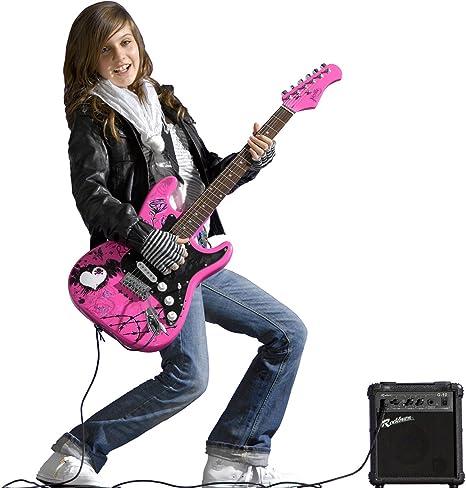 Jaxville ST1PPPK - Pack de Guitarra Electrica stratocaster rosa ...