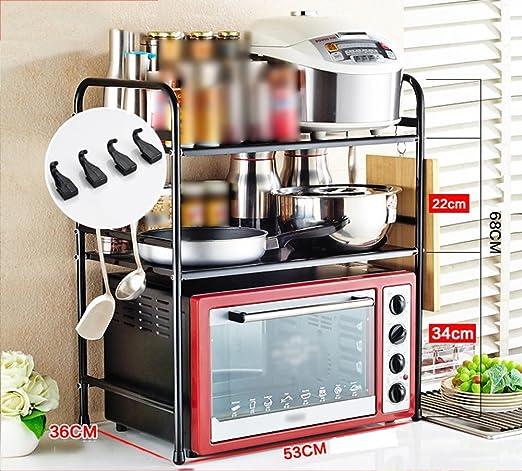 Estantes de cocina TaoMi acero inoxidable horno de ...