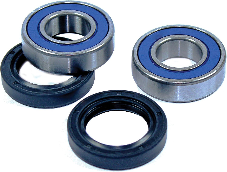 Caltric Front Wheel BALL BEARINGS /& SEALS KIT Fits HONDA TRX250TE TRX250TM RECON ES 2002-2009