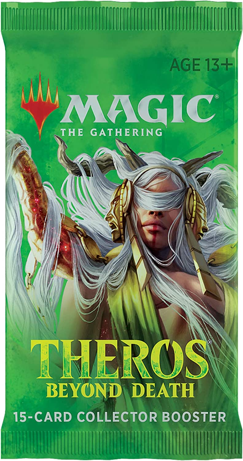 Magic: The Gathering Theros Beyond Death Collector Booster | 15 Card Booster Pack | Special Collectible Cards (C68970000)