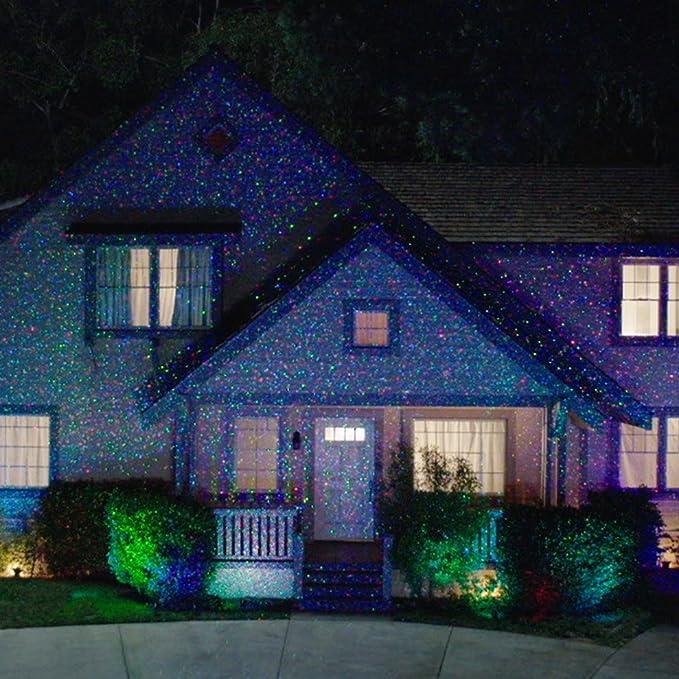 Amazon com star night laser shower christmas lights red green dancing lights home kitchen