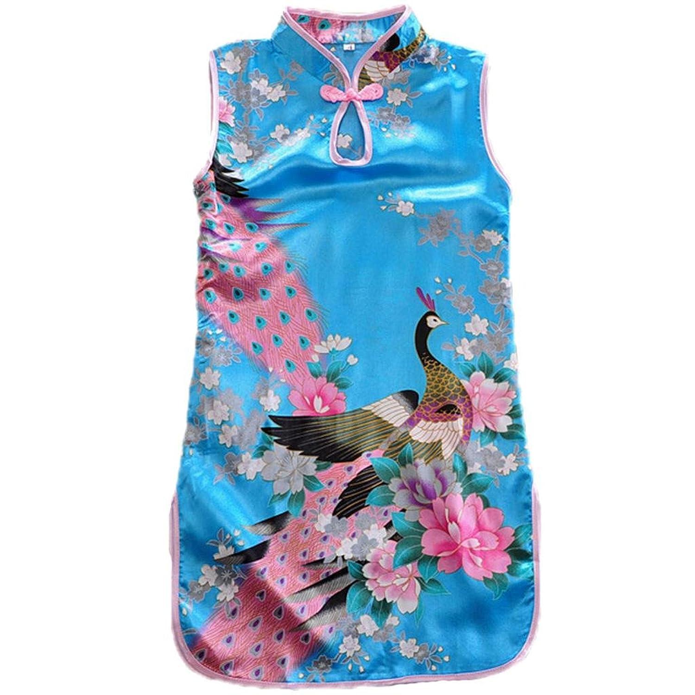 Amazon Baby dress girls Chinese cheongsam Infant And Toddler