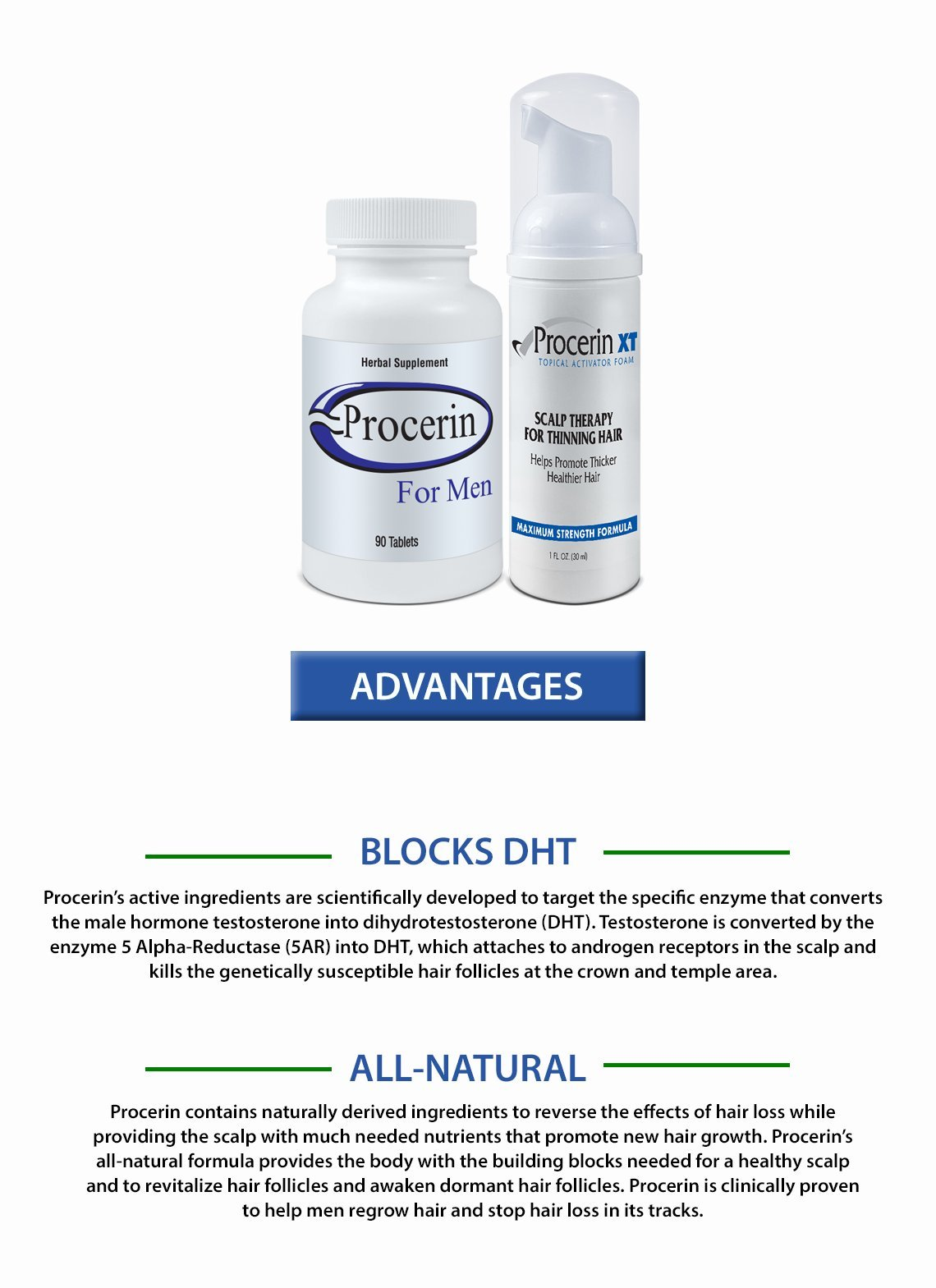 Procerin Combo Pack - 3 Month Supply by Procerin (Image #4)