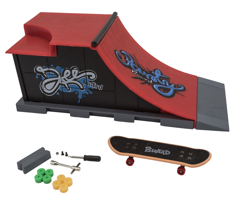 Skate park 5406314520. Monopatín de dedo y rampa. Modelo Aleatorio