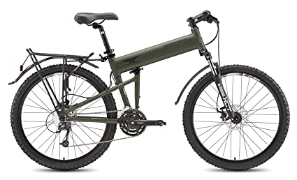 Montague Paratrooper 24 Speed Folding Mountain Bike Small - 16""