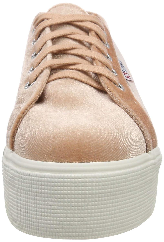 Superga Damen 2790-velvetchenillew Sneaker Pink Pink Pink (Pink Dusty Coral 918) e047ad