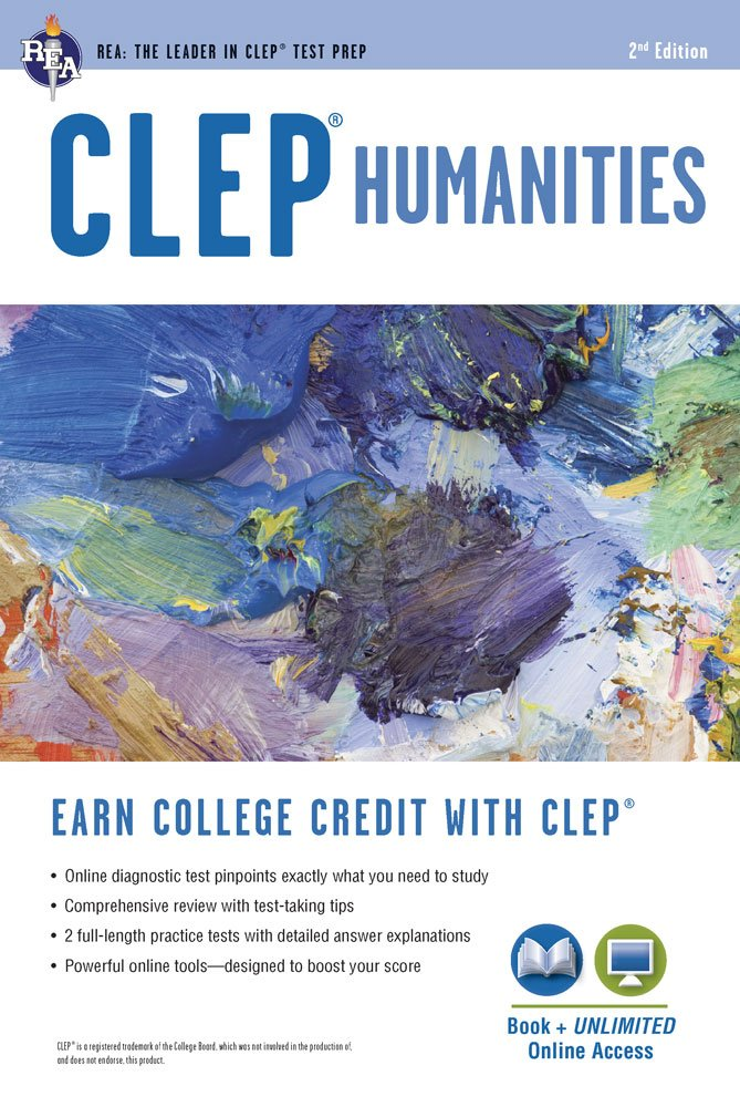 CLEP Humanities Book Online CLEP Test Preparation