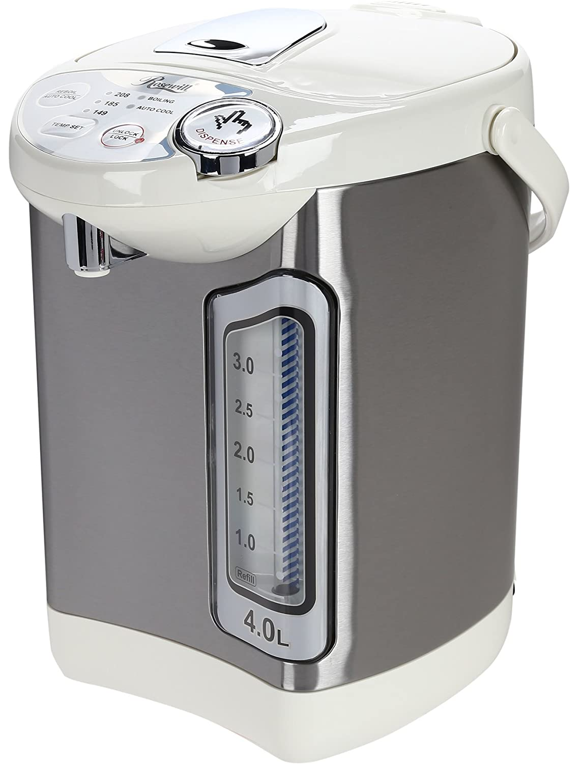 Amazon.com: Rosewill Electric Hot Water Boiler and Warmer, 4.0 Liter ...