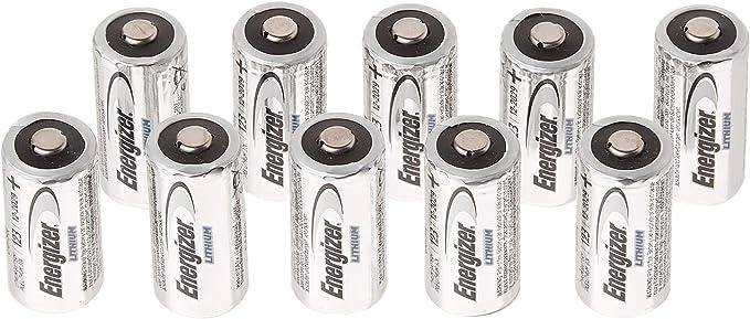 10 Stück Energizer Lithium Cr123 A 3 V Elektronik