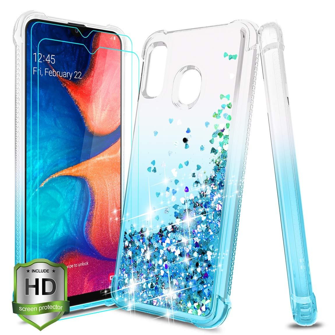 Funda + Vidrio Para Samsung Galaxy A20 / A30 Glitter Tmacker [7sx18ts5]