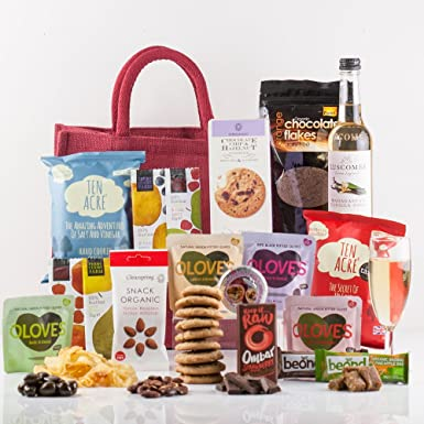 Natures Hampers Luxury Gluten Free Gift Bag