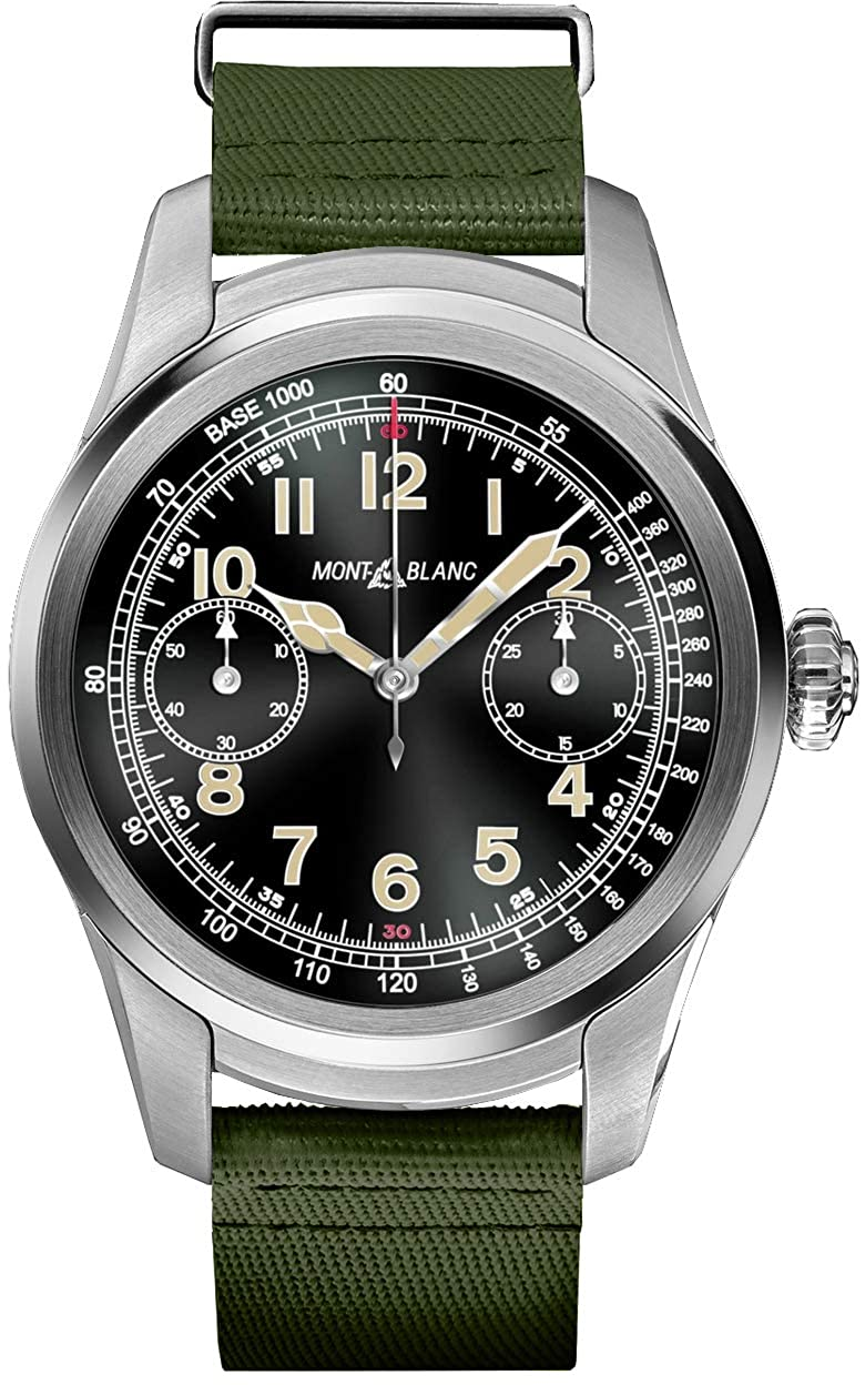 Montblanc Cumbre Smartwatch 117740 Acero Caso con Color ...