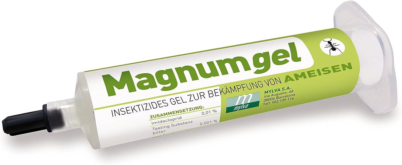 acotec Gel antihormigas Magnumgel 40 g – Gel insecticida para combatir hormigas con Imidacloprid