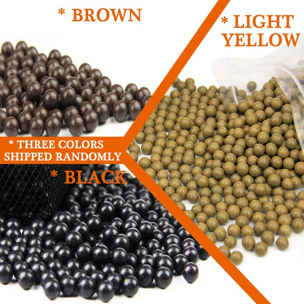 """Slingshot Ammo Professional About 1200 PCS, 7/20""""(9mm) Hard Clay Ball, Environmentally Friendly(Random Colors). : Sports & Outdoors"""