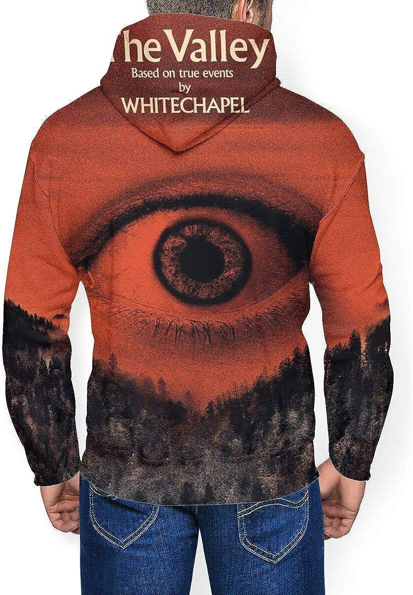 AmyMcLeod Whitechapel Mens Hoodies Winter Heavyweight Basic Sweatshirt