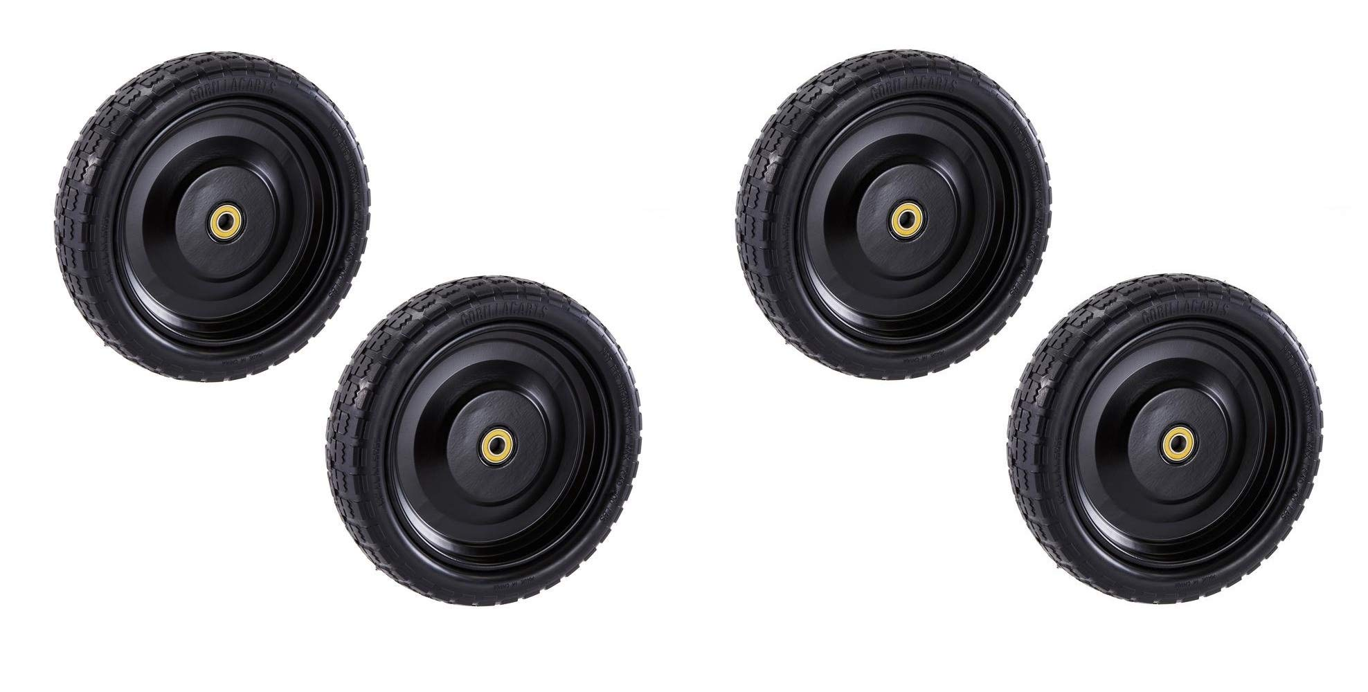 """Gorilla Carts GCT-13NF Replacement Tire, 13"""" (2-Pack) (2 X Pack of 2)"""