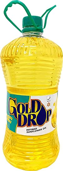 Gold Drop Refined Sunflower Oil, 1L