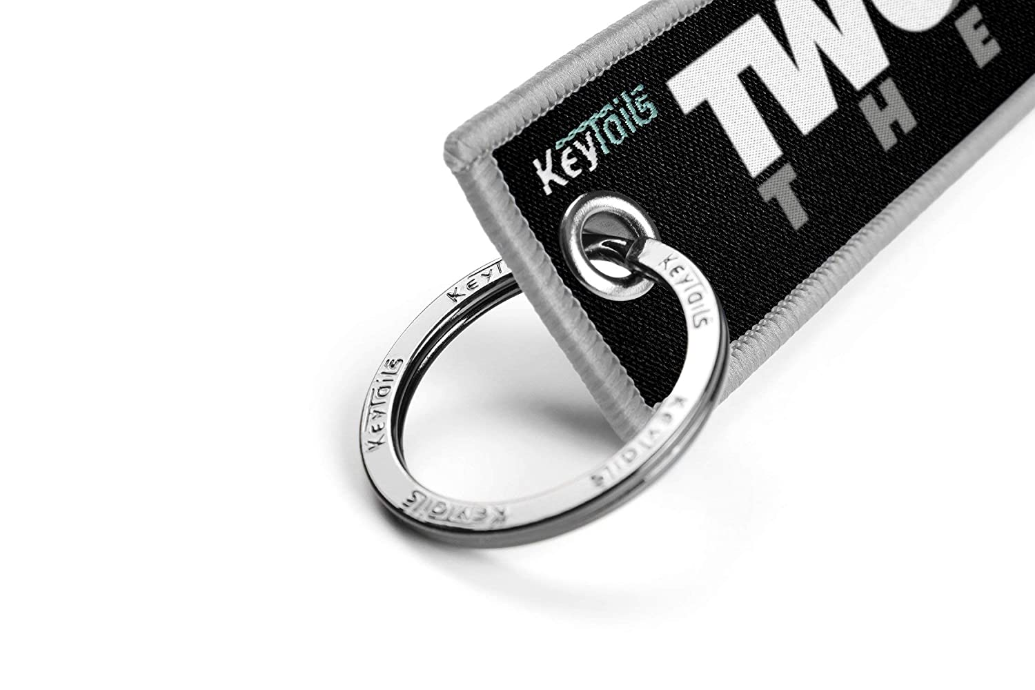 KEYTAILS Keychains ATV UTV Scooter Two Wheel Therapy Premium Quality Key Tag for Motorcycle