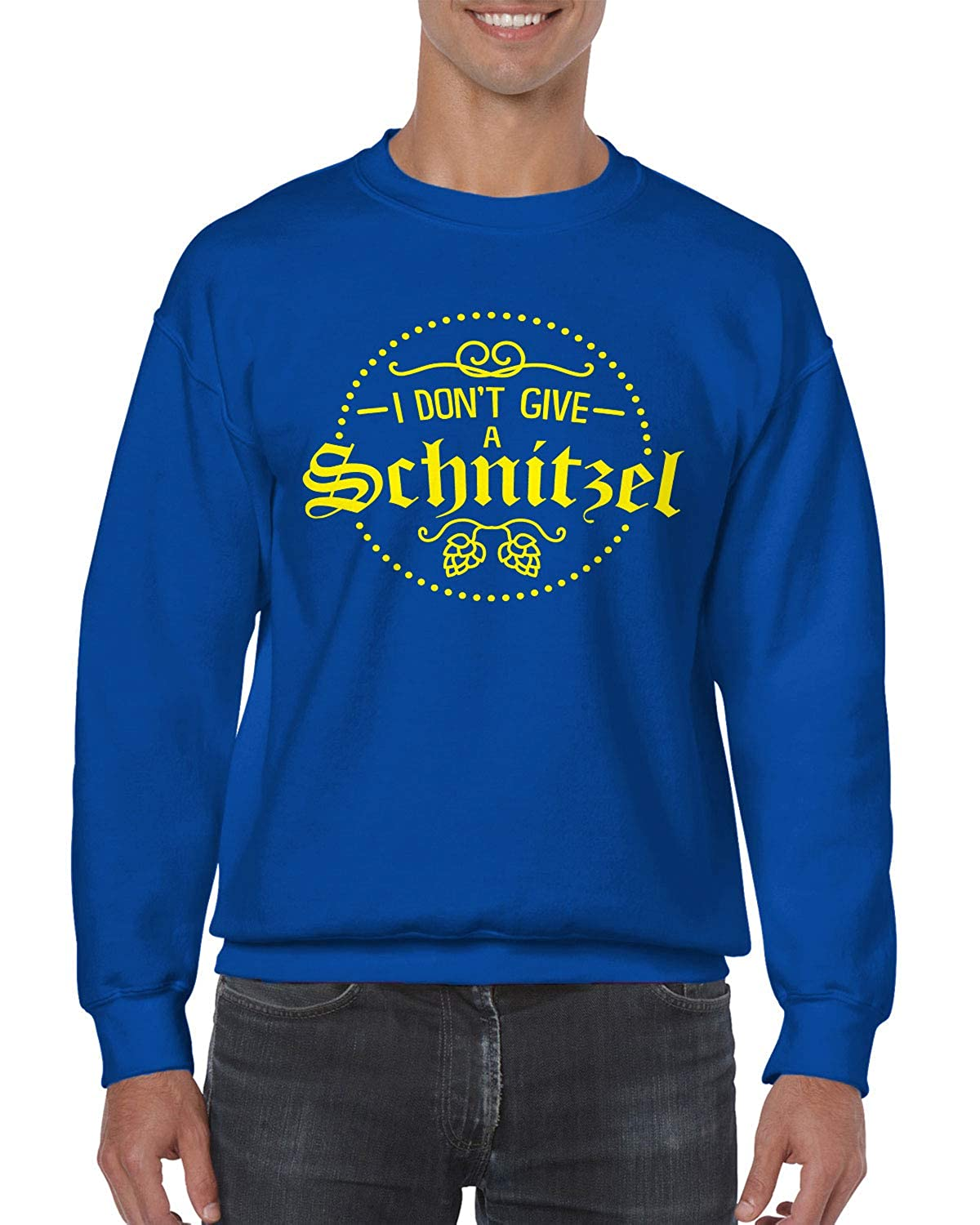 SpiritForged Apparel I Don/Ít Give A Schnitzel Crewneck Sweater