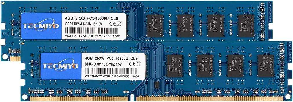 Elpida Kits 16GB 8GB 4GB PC3-10600 DDR3 1333Mhz RAM DIMM Desktop Memory Lot