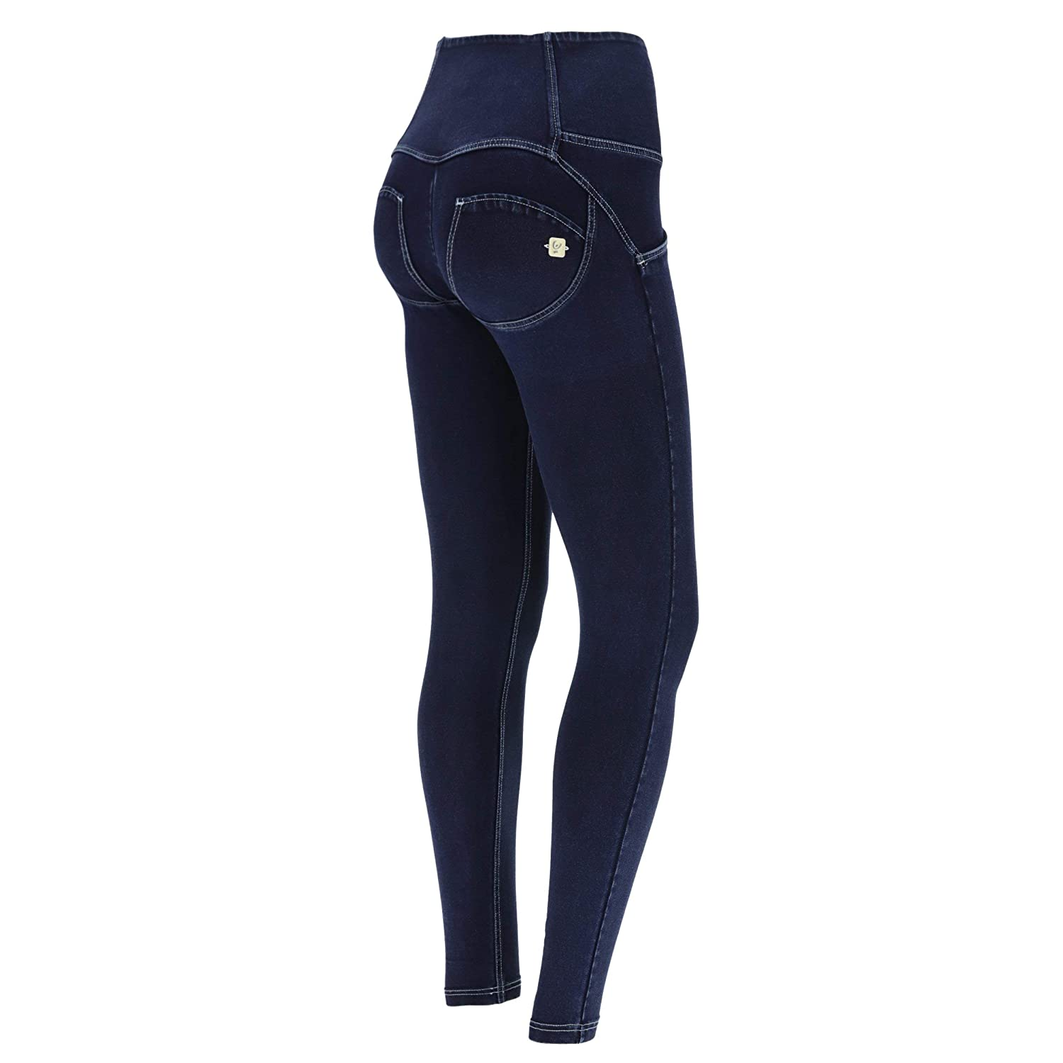 FREDDY Pantalone WR.UP/® Superskinny in Denim a Vita Alta