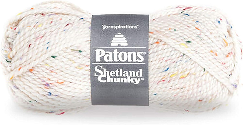 3 oz Aran Tweed Patons Shetland Chunky Tweeds Yarn 1 Ball