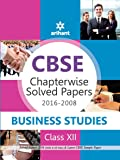 CBSE Chapterwise 2016-2008 Business Studies Class 12th