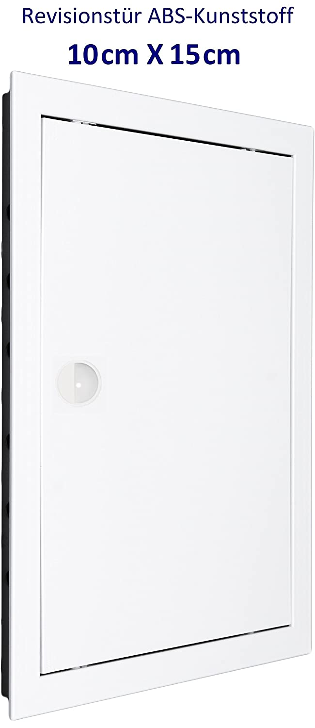 Inspection Door Inspection Flap. Access Panel. White High Quality ABS Plastic. Sizes Available. 8'' x 8'' (200mm x 200mm) MM TECHNIK