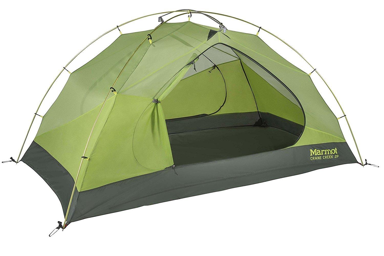 マーモット Marmot rane Creek Backpacking and Camping Tent テント 3 Person Macaw Green/Crocodile B07D61MQ14