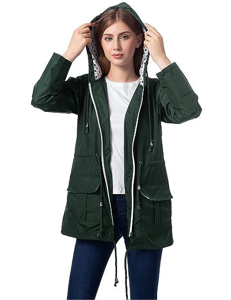 agreatvarietyofmodels latest releases search for latest Romanstii Waterproof Rain Jacket Active Outdoor Windbreaker Hiking Hooded  Raincoat Women