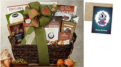Image Unavailable Not Available For Color Gourmet Choice Gift Basket Birthday And Personalized