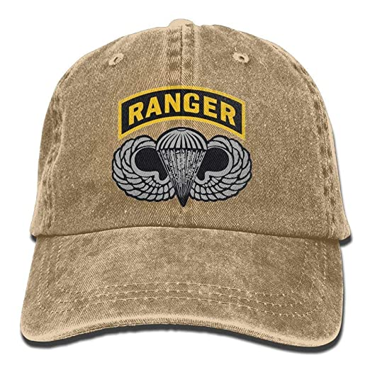 Us Army Ranger Tab Denim Dad Cap Baseball Hat Adjustable Sun Cap at ... 5a239fb5609f
